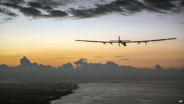 Solar Impulse. AP.