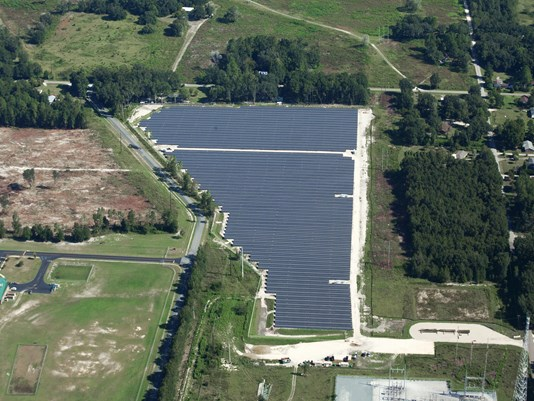 Duke Energy solar farm in Florida