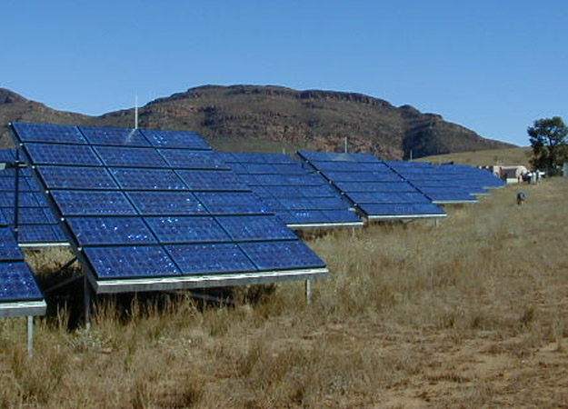 Australian solar array (Image: SXC)