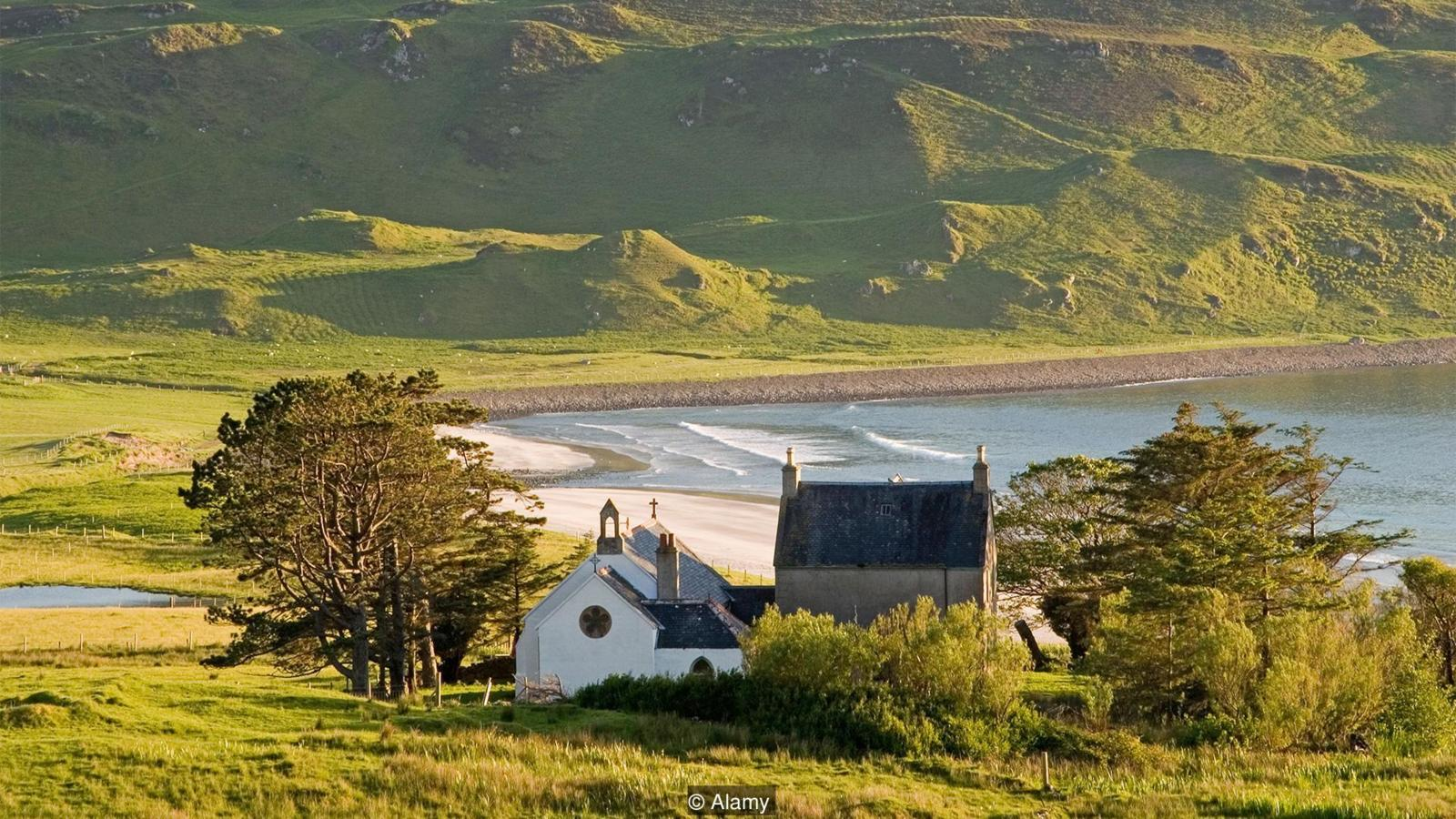 Cleadale church, Eigg (Credit: Alamy)
