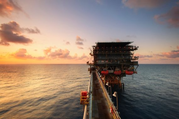 Offshore oil structure