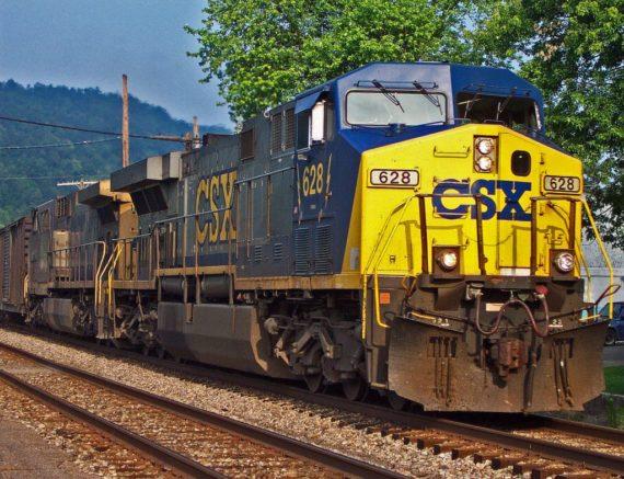 CSX train (Photo: Don O'Brien, flickr.com, Creative Commons)