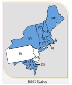 States in the RGGI