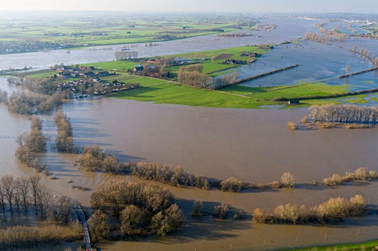 Flooding in Germany (AP image)