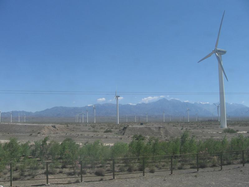 Goldwind wind farm (Photo: Pzavislak, Wikimedia Commons)