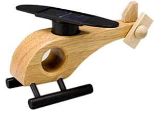 Solar Powered Wooden Copter