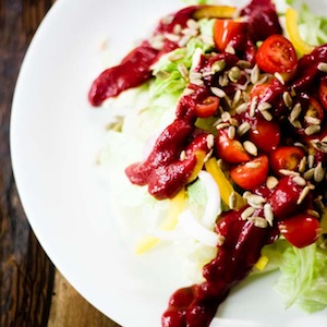 Lactose-Free Creamy Beet Salad Dressing