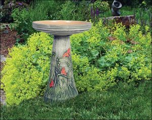 Ceramic Butterfly Meadow Bird Bath Gift Ideas [tag]