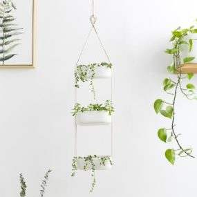Mkono 3 Tier Hanging Planter Apartment Living [tag]