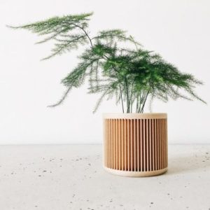 Ecofriendly Recycled Wood Indoor Planter Apartment Living