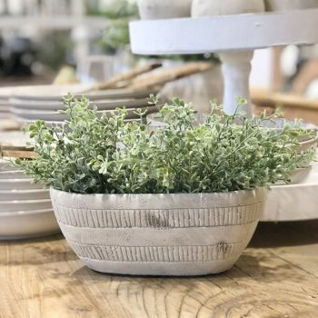 Rustic Textured Indoor Pot Planter eBay