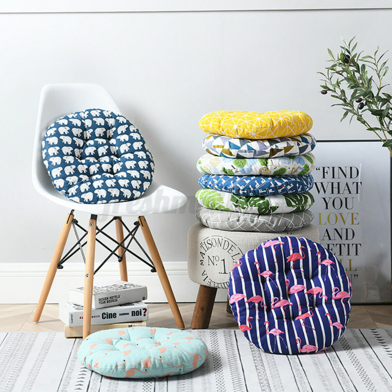 Round Padded Seat Cushion Apartment Living chaircushion