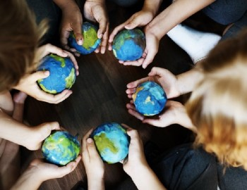 Die Zukunft der Erde in Kinderhand