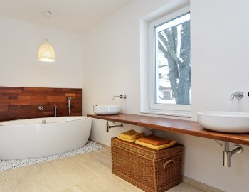 Nachhaltige Badezimmer