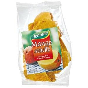 βιολογικό αποξηραμένο μάνγκο dennree