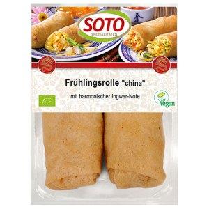 Βιολογικά τρόφιμα - Spring rolls
