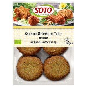 Βιολογικά τρόφιμα - Mini Burger Quinoa