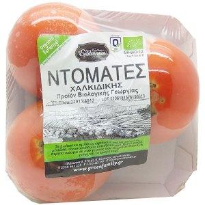 Βιολογικά λαχανικά - Ντομάτες