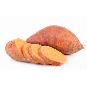 βιολογικά λαχανικά - γλυκοπατάτες