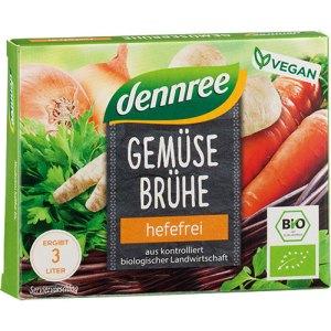 βιολογικοί κύβοι λαχανικών χωρίς μαγιά Dennree