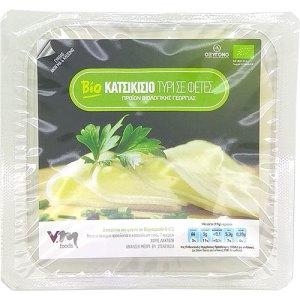 βιολογικό κατσικίσιο τυρί σε φέτες