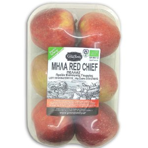 βιολογικά μήλα red chief