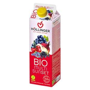ιολογικός χυμός κοκτέιλ φρούτων SUNSET της HOLLINGER
