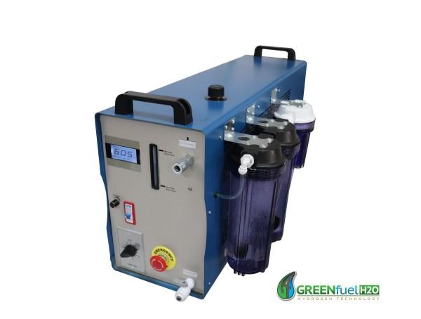 Hydrogen carbon cleaning machine