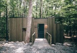 Tiny House im Wald. (Foto: Getaway)