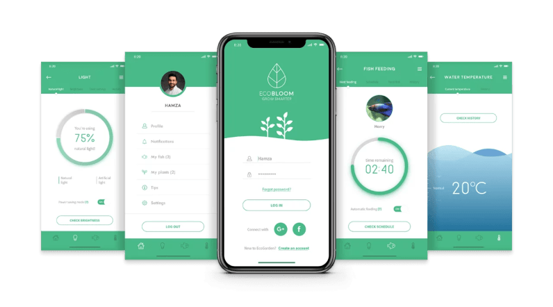 Die App verrät viele Details. (Foto: Ecobloom)