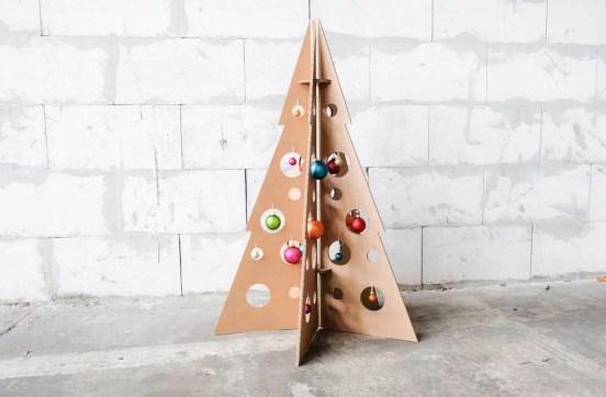 Der Zero-Waste-Weihnachtsbaum. (Foto: Room In A Box)