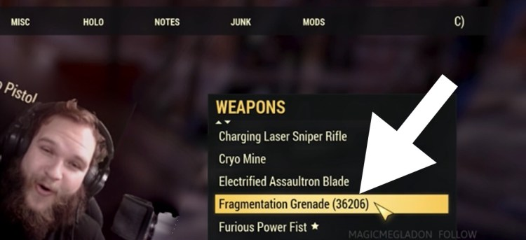 The Best Fallout 76 Bug Yet