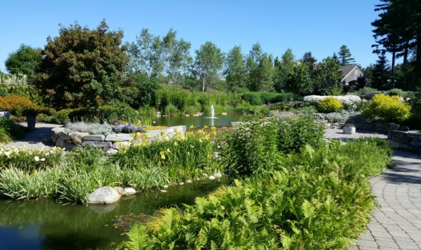 organic gardening at Coastal Maine Botanical Gardens