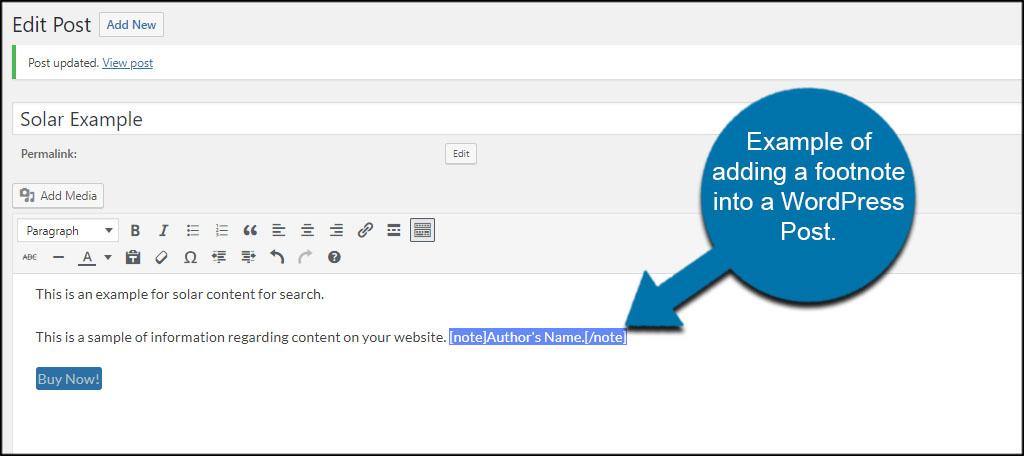 Simak artikel mengenai cara membuat footnote di word berikut. How to Insert Footnotes into WordPress Posts - GreenGeeks