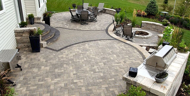 8 Unique Hardscaping Ideas for Backyards - Green Gold ... on Backyard Hardscape Design id=39646