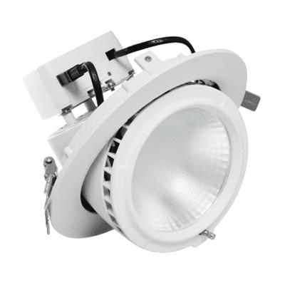 The Green Guys Group - LED Shoplights - Circular Gimbal Shoplight