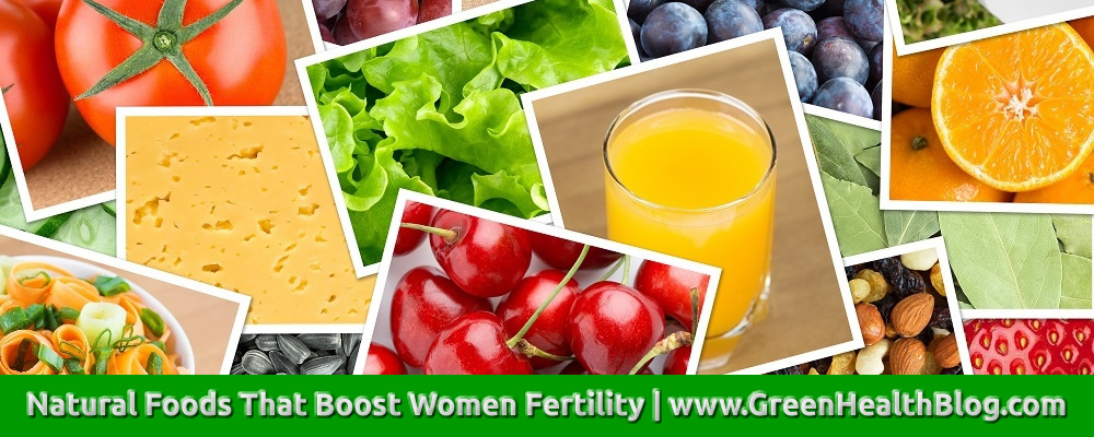 Natural Foods That Boost Women Fertility