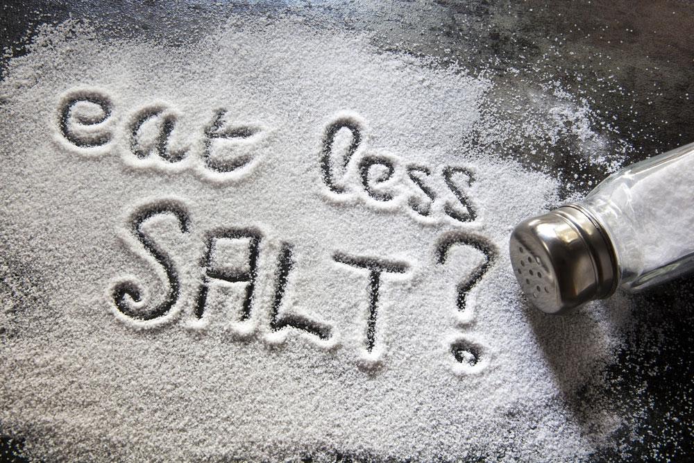 Diminish Salt Intake