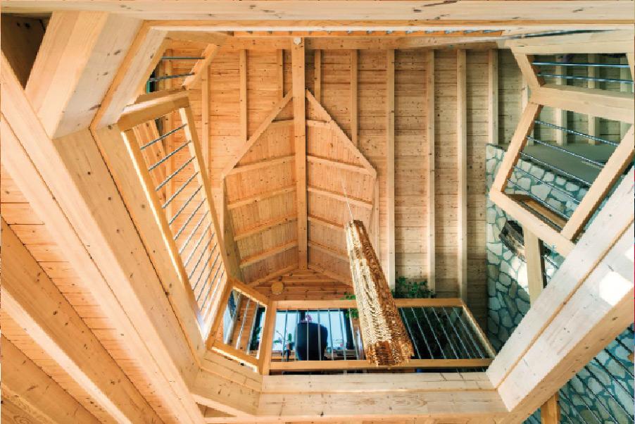Blockhaus bauen greenhome for Blockhaus innen modern