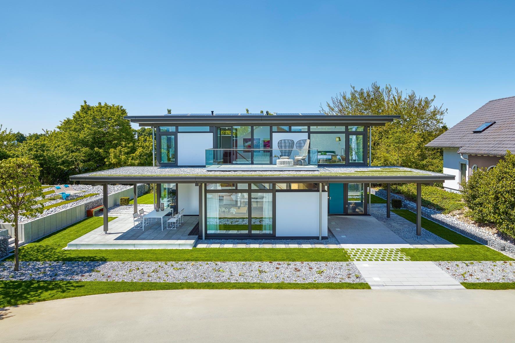 Huf Haus Modum – Grünes Fachwerkhaus