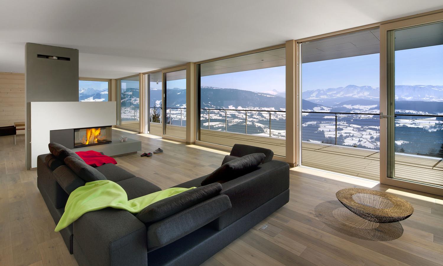 Polar Collection – moderne Fachwerkhäuser aus Holz   greenhome