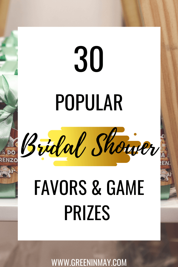 Best bridal shower favors and game prizes