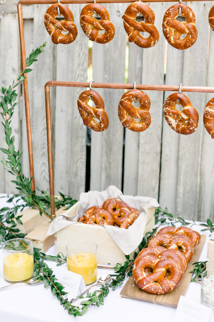Pretzel bars are perfect food bars for party