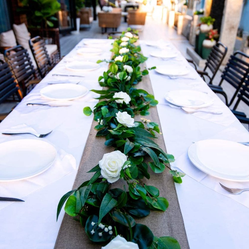 Artificial Eucalyptus Greenery Elegant Wedding Centerpieces