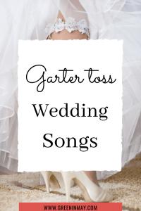 Garter toss marriage music