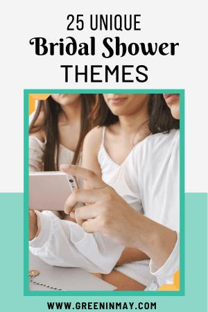 25 fun bridal shower theme ideas