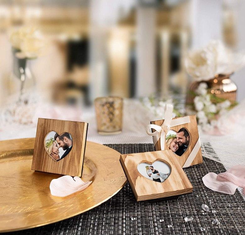 Picture frames wedding favors