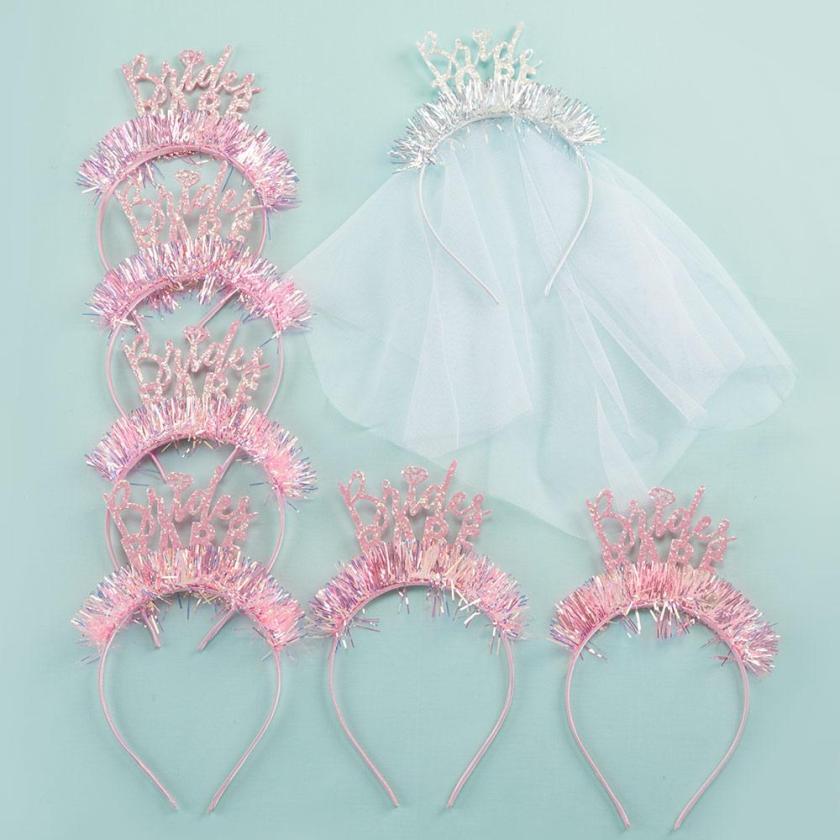 Bachelorette party headband set