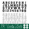 Varsity Font Svg