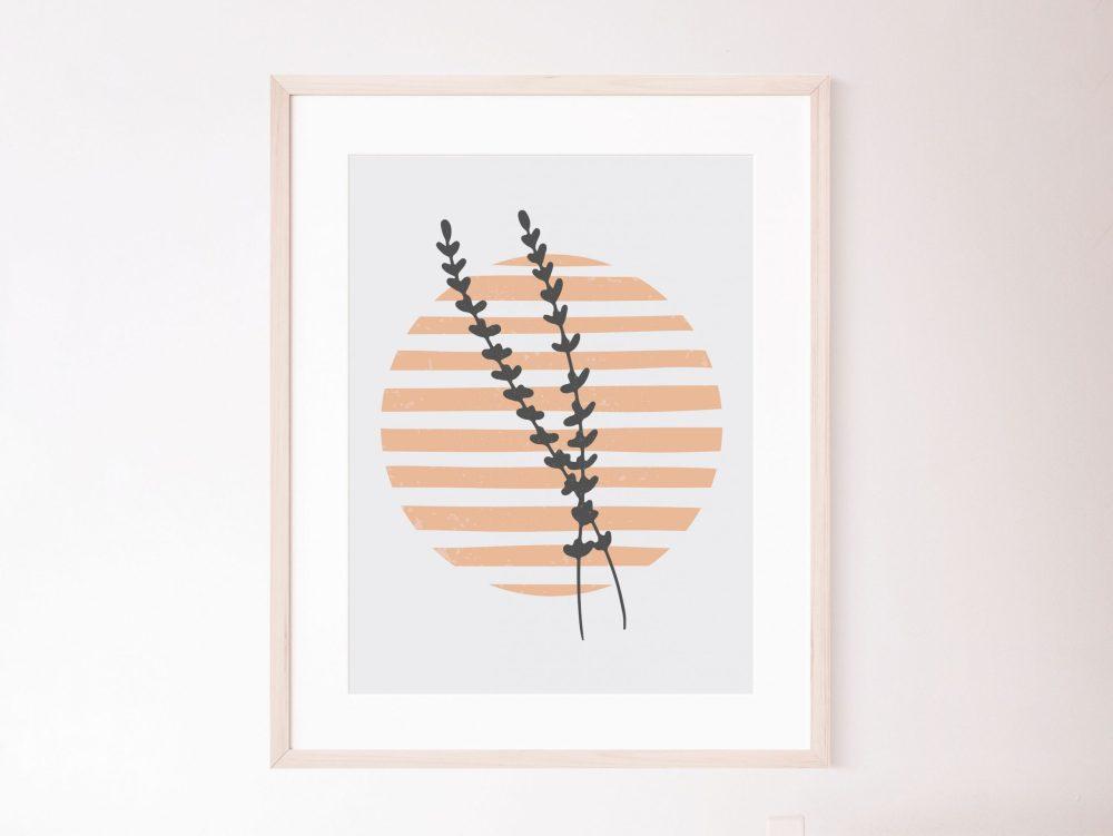 Abstract Botanical Prints